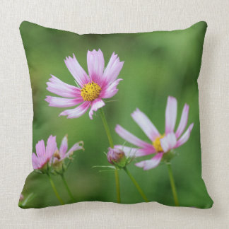 Cosmos Flowers Cushion