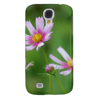Cosmos Flowers Galaxy S4 Case