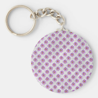 Cosmos Flowers Key Chain