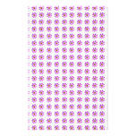 Cosmos Flowers Stationery Paper
