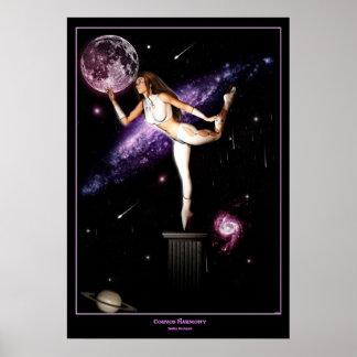 Cosmos Harmony Poster