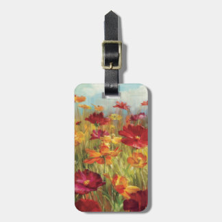 Cosmos in the Field 2 Luggage Tag