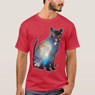 """""""Cosmos"""" Space In Cats T-shirt"""