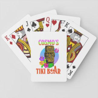Cosmo's Tiki Bar Poker Deck