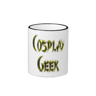 Cosplay Geek Yellow Mug