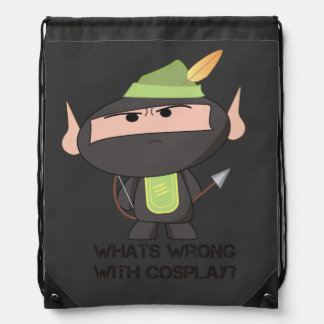 """Cosplay"" String Bag - A Nawty Ninja Design"