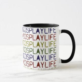 #CosplayLife MultiColor Mug