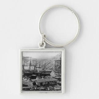 Cossack Bay, Crimea, c.1855 Key Chain