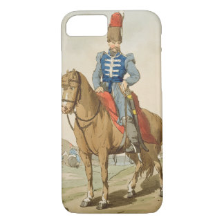 Cossack Officer, etched by the artist, published 1 iPhone 8/7 Case
