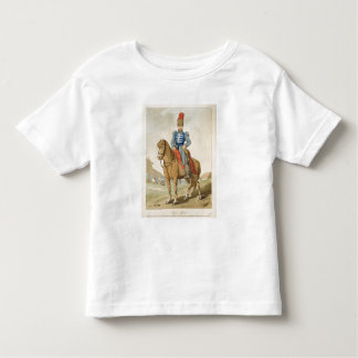Cossack Officer, etched by the artist, published 1 Toddler T-Shirt