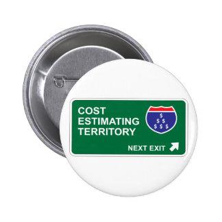 Cost Estimating Next Exit 6 Cm Round Badge