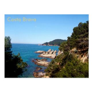 Costa Brava Sensation Postcard