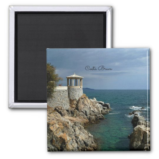 Costa Brava, Spain scenic photograph Magnet