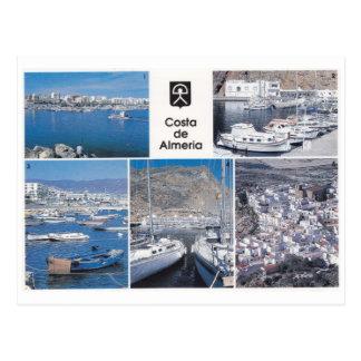 Costa de Almeria - Postcard