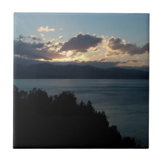 Costa del Cilento Sunrise custom tile