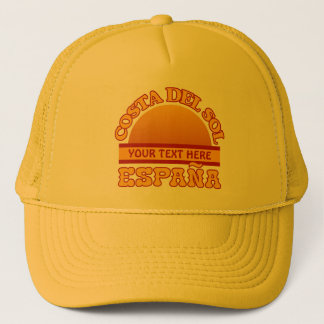 Costa del Sol custom hats