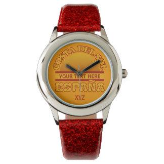 Costa del Sol custom watches