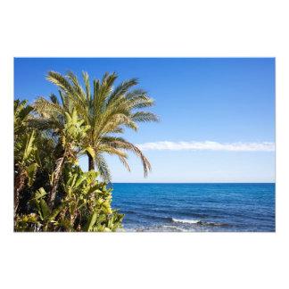 Costa del Sol in Spain Photo Art