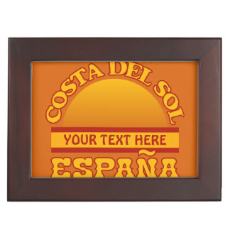 Costa Del Sol keepsake box