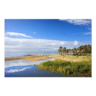 Costa del Sol Nature Scenery in Spain Photographic Print