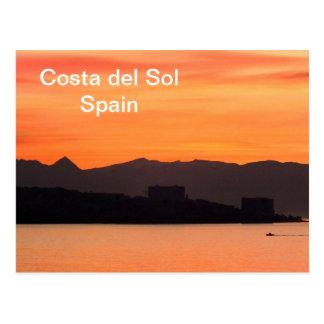 Costa del Sol, Spain Postcard