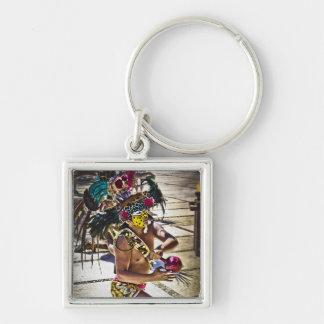 Costa Mayan Ritual Key Chain