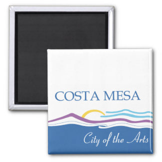 Costa Mesa city flag Magnet