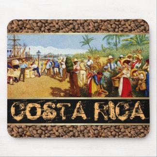 Costa Rica Alegoria del Cafe Mousepads