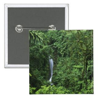 Costa Rica, Arenal Volcano area, Hanging Bridges 15 Cm Square Badge