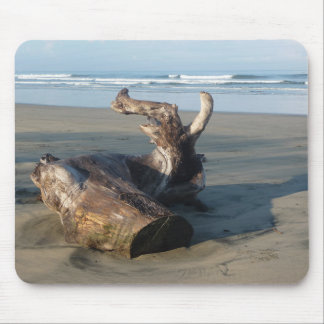 Costa Rica Beach Coast Driftwood Photo Mousepad