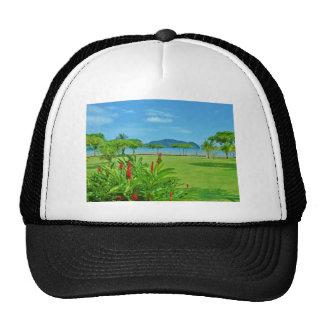 Costa Rica beach outdoor Mesh Hats