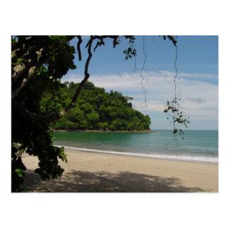 Costa Rica Beach Paradise Postcard