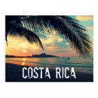 Costa Rica Beach Postcard