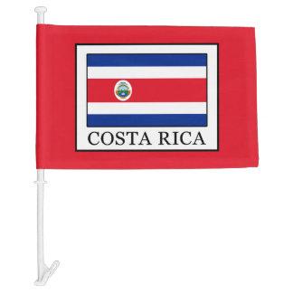 Costa Rica Car Flag