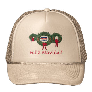 Costa Rica Christmas 2 Cap