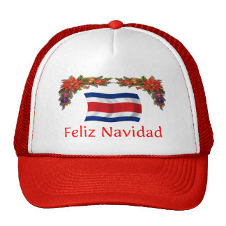 Costa Rica Christmas Cap