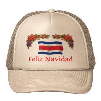 Costa Rica Christmas Cap