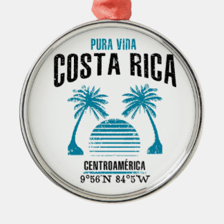 Costa Rica Christmas Ornament