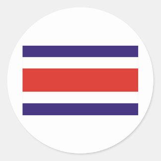 Costa Rica Classic Round Sticker