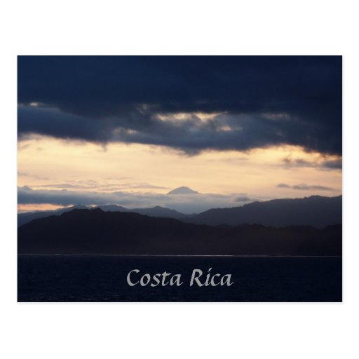 Costa Rica Coast Post Card