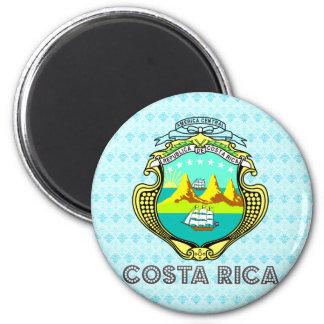 Costa Rica Coat of Arms 6 Cm Round Magnet