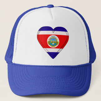 Costa Rica Cost Rican Flag Trucker Hat