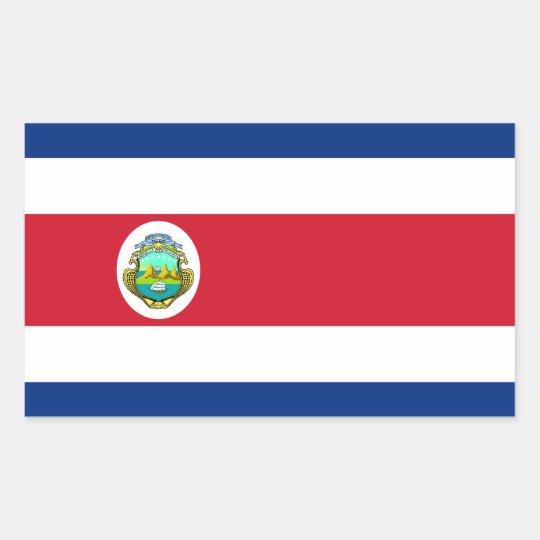 Costa Rica – Costa Rican National Flag Rectangular Sticker