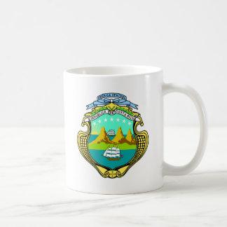 costa rica emblem coffee mug