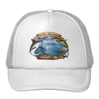 Costa Rica Fishing Champion (your name) Cap