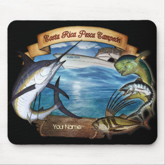 Costa Rica Fishing Champion (your name) Mouse Mat