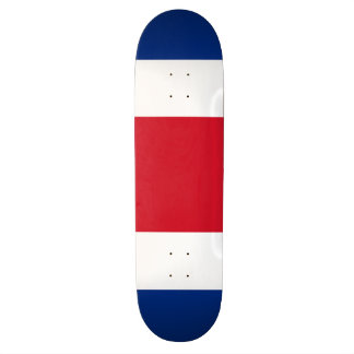 Costa Rica Flag 20 Cm Skateboard Deck