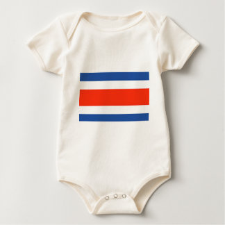 Costa Rica Flag Baby Bodysuit
