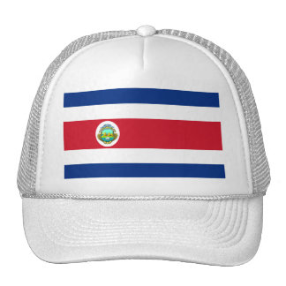 Costa Rica Flag CR Cap