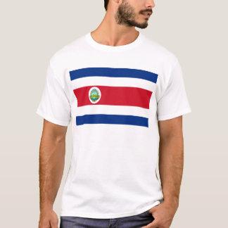 Costa Rica Flag CR T-Shirt